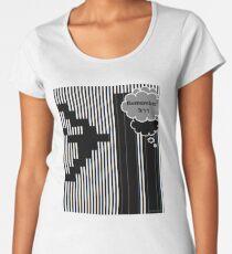 9/11 Ascii Premium Scoop T-Shirt