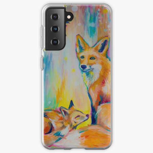 Colourful Fox  Samsung Galaxy Soft Case