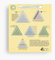 The Astounding Pascal Triangle Canvas Print