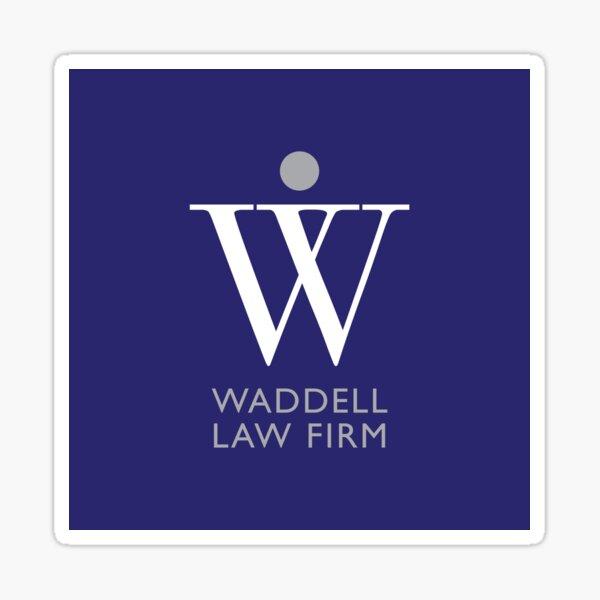 Waddell Law Firm - A Sticker