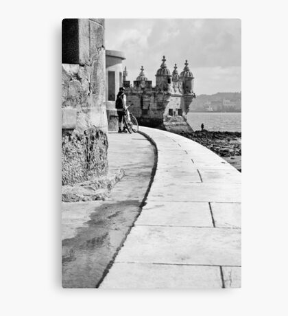 Belem castle Canvas Print