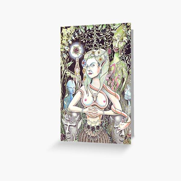Fairy Goddess Greeting Card