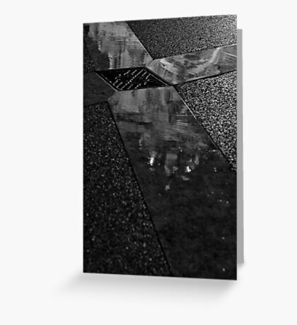 Dark and wet Greeting Card