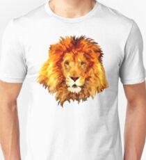 Low Poly Lion Unisex T-Shirt