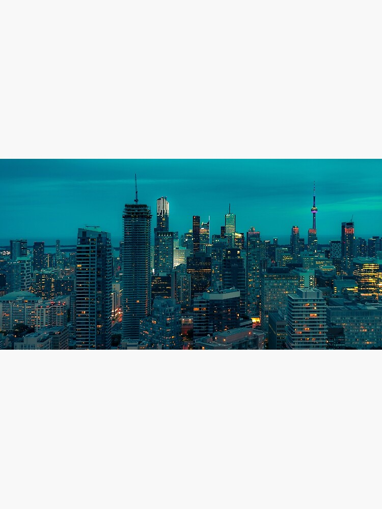 Toronto at night by TokyoLuv