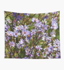 Purple Daisy's Wall Tapestry