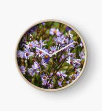 Purple Daisy's Clock