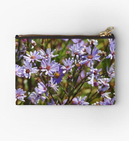 Purple Daisy's Zipper Pouch