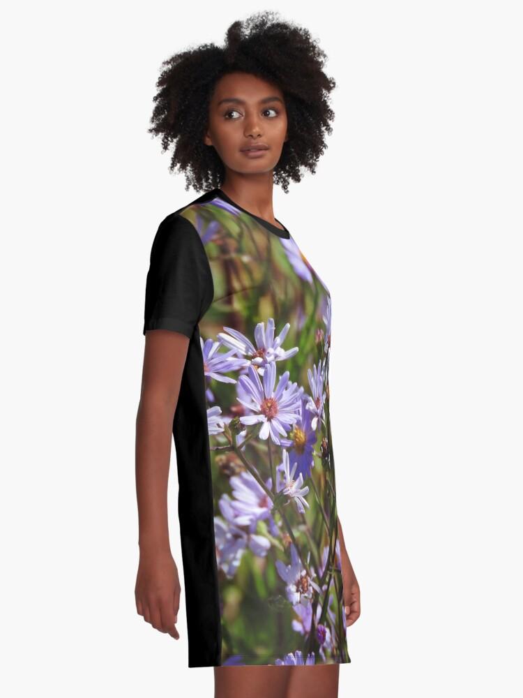 Alternate view of Purple Daisy's Graphic T-Shirt Dress