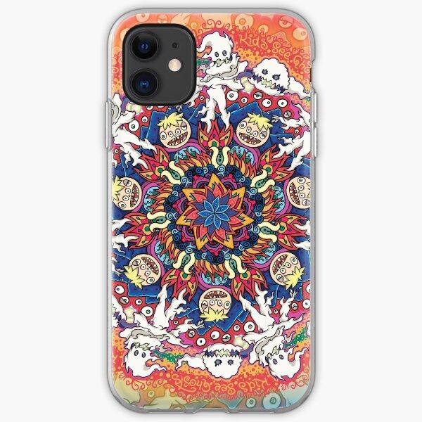 Kids See Ghosts Mandala iPhone Soft Case