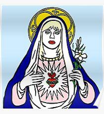 Virgin Courtney Love Poster