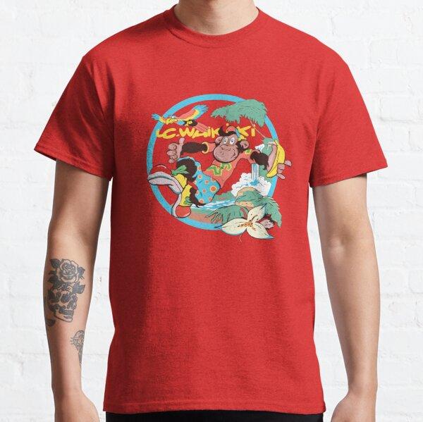 Sun island Monkey Waikiki   Classic T-Shirt