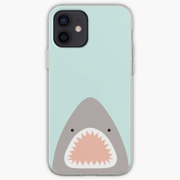 shark attack iPhone Soft Case