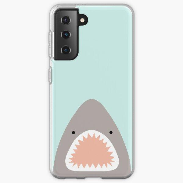 shark attack Samsung Galaxy Soft Case