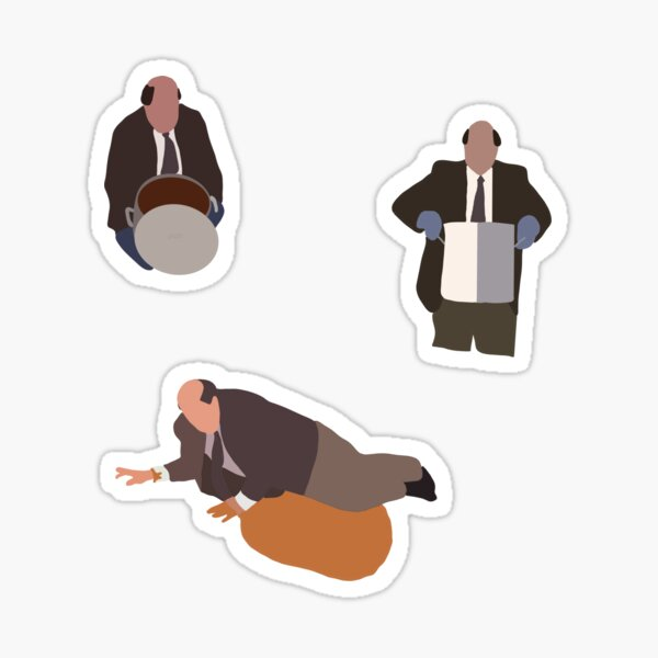 Kevin's Famous Chili | The Office Sticker