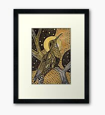 The Oracle Framed Print
