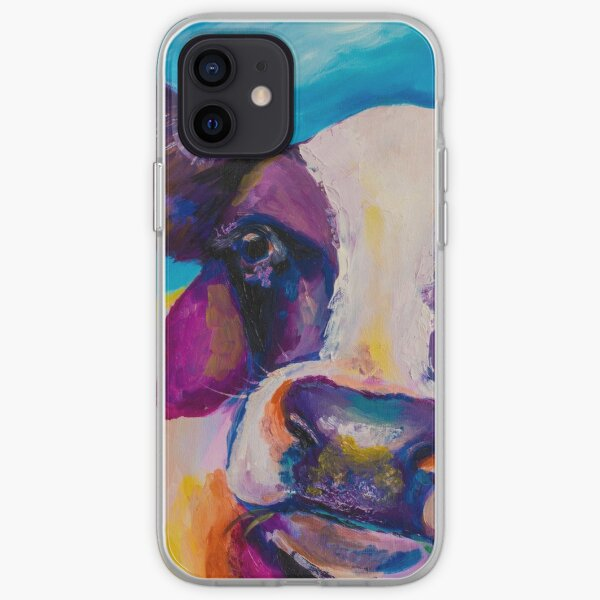 Cow Face iPhone Soft Case