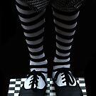 Checkerd legs by oddoutlet