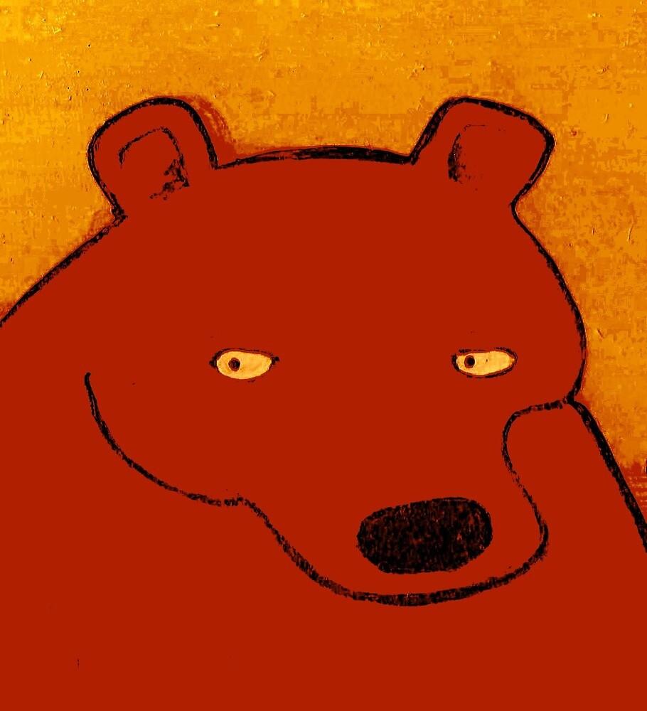 BIG CHOCOLATE BEAR by paulvolker