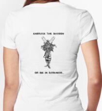 Zed Women's Fitted V-Neck T-Shirt