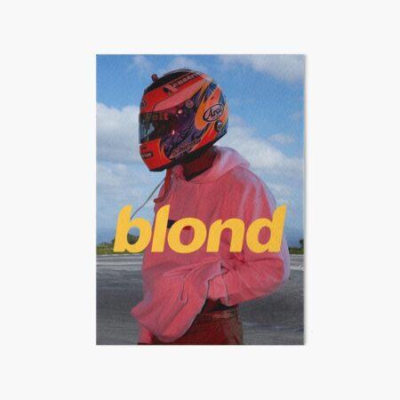 Frank Ocean Blond Art Board Print