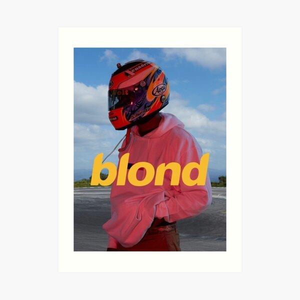 Frank Ocean Blond Art Print