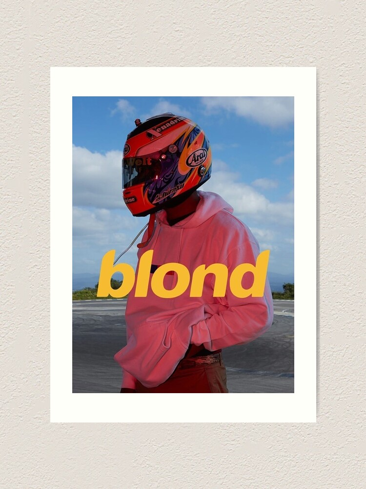 Alternate view of Frank Ocean Blond Art Print