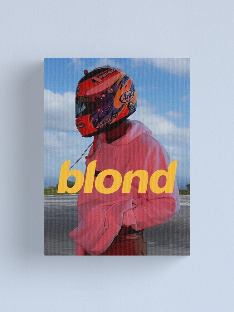 Alternate view of Frank Ocean Blond Canvas Print