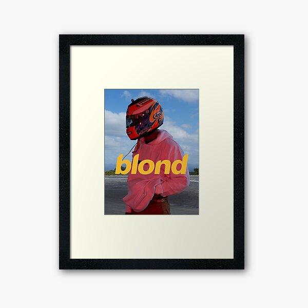 Frank Ocean Blond Framed Art Print