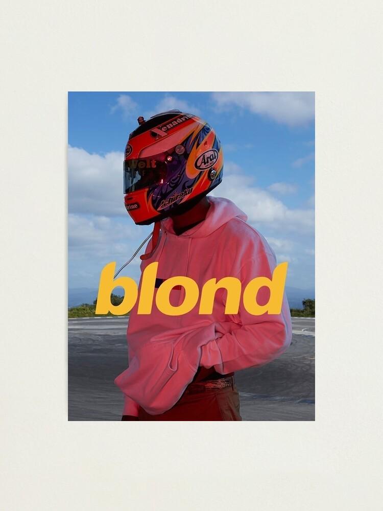 Alternate view of Frank Ocean Blond Photographic Print