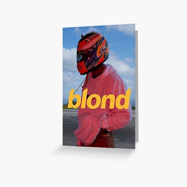 Frank Ocean Blond Greeting Card