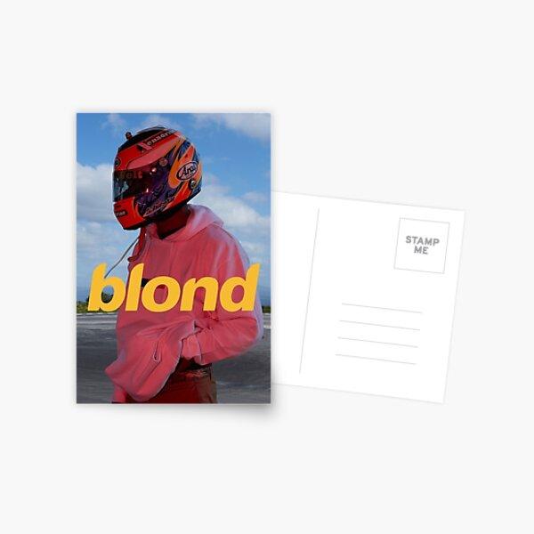 Frank Ocean Blond Postcard