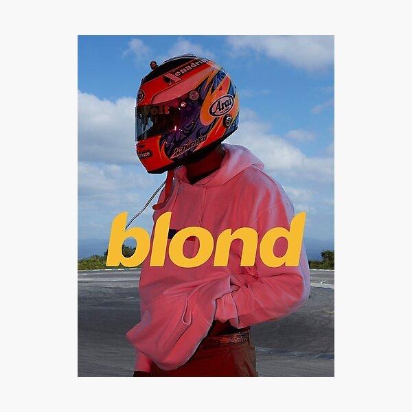 Frank Ocean Blond Photographic Print