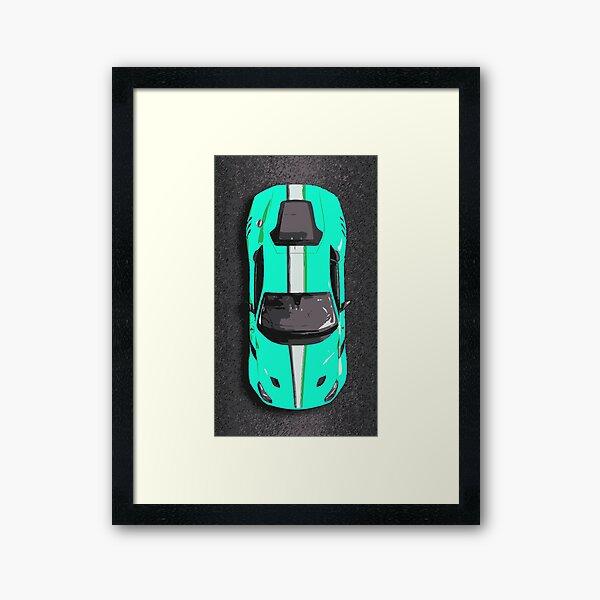 Ferrari F12 TDF Framed Art Print