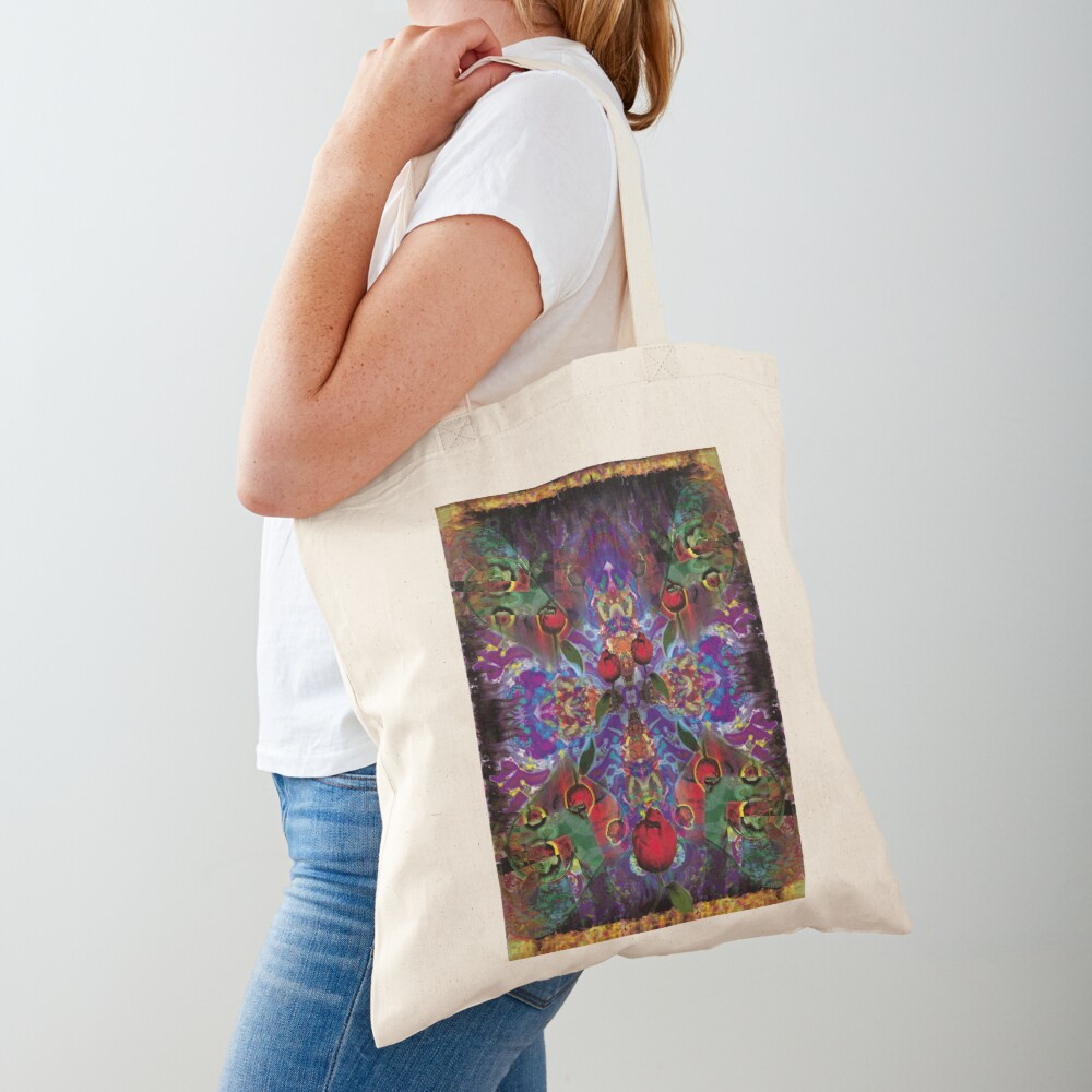 Vision with Tulips Tote Bag