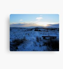 Take a seat and enjoy the view Canvas Print