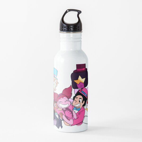 Happily ever after never ends Water Bottle