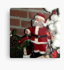 OMG, what are those reindeer doing up there?! Metal Print