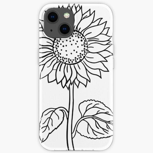 Sunflower iPhone Soft Case