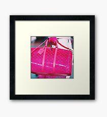 PINK AF  Framed Print