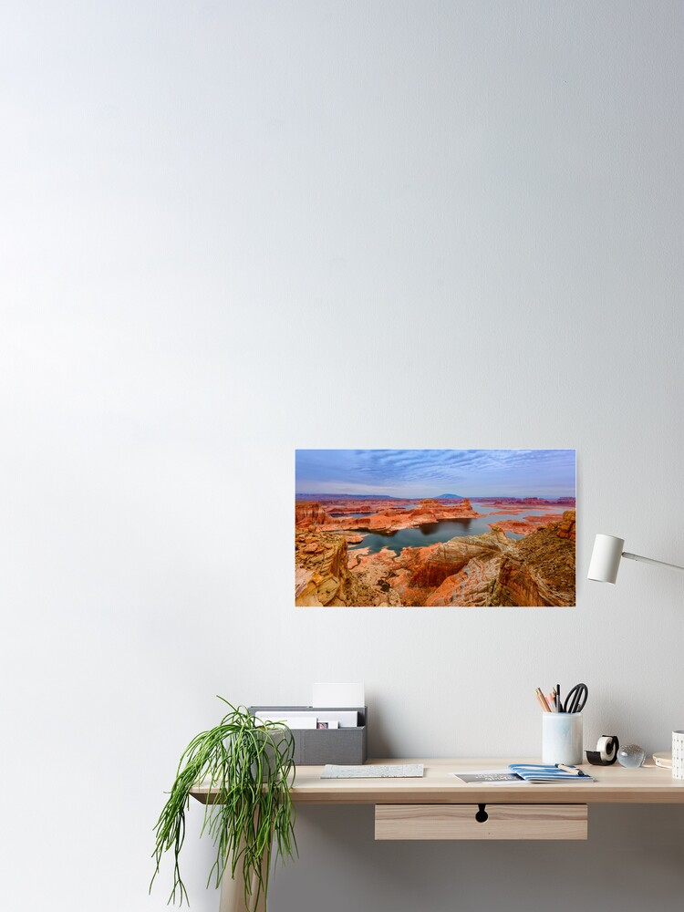 Alternate view of Lake Powell Poster