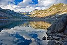 Bishop CA Sabrina Lake Fall by photosbyflood