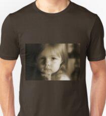 Little Girl Feeling Sad T-Shirt