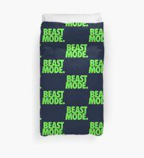BEAST MODE. - Electric Green Duvet Cover