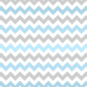 Blue Chevrons by babibell