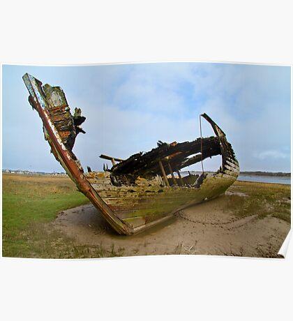 Marsh Wreck  Poster