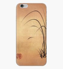 Lyrical Dreams - original sumie ink brush pen Zen drawing by Rebecca Rees iPhone Case