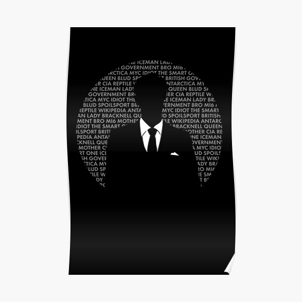 Mycroft of Many Names Poster