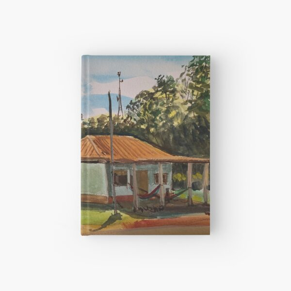 Guest House in Maya Itza Hardcover Journal