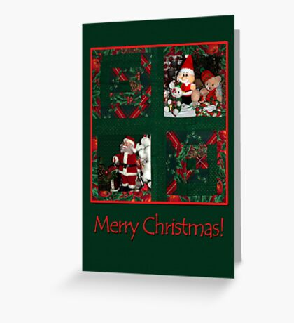Xmas-patchwork  Greeting Card